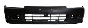 Honda Civic 92-95 Bumper Cover Front Hatchback Coupe 2Dr 3Dr New Raw Unprimed