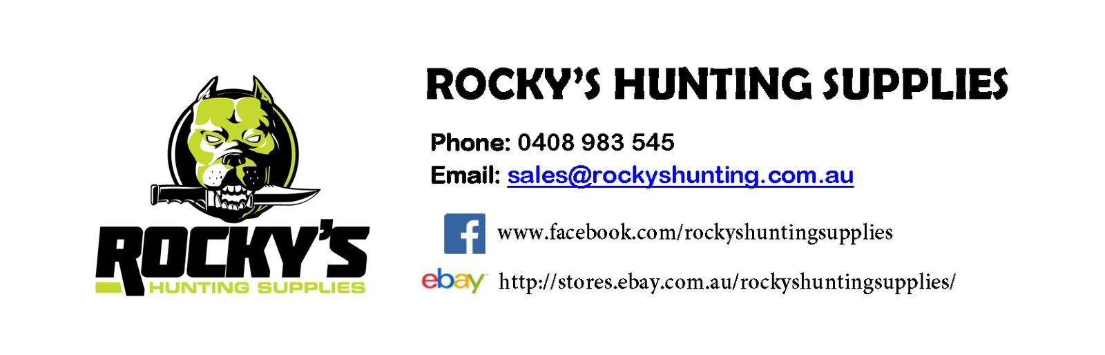 Rockys Hunting Supplies