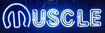 Muscle Car Neon Bar Light Sign