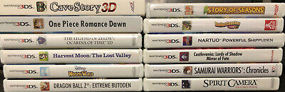 Used Nintendo 3DS Games *Choose Your Own* COMPLETE - NTSC-U/C English