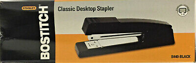 Bostitch Desktop Stapler Full-strip Capacity Black B440-black