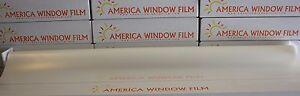 WINDOW FILM TINT WHITE MATTE 2 PLY 40