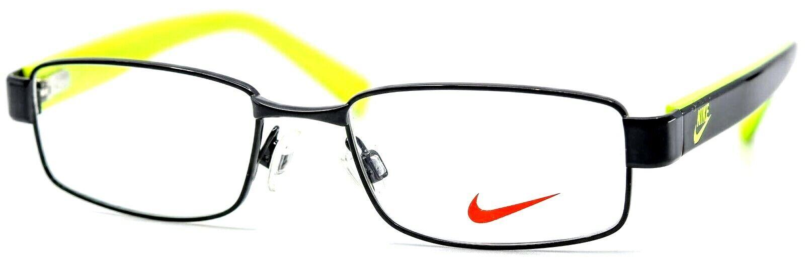 Nike Kids 5571 010 Black Volt Yellow Boys Girls ...