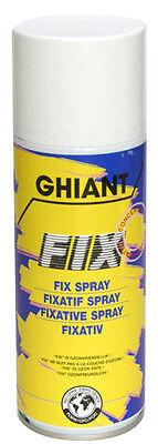 GHIANT Fixativ Konzentrat Spray 400ml für Pastell Zeichnungen
