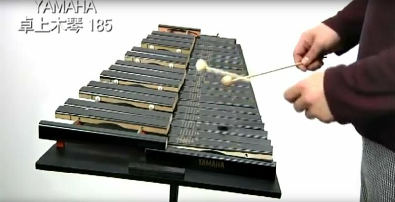 NEW Yamaha desk xylophone No.185 with mallet From Japan