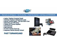 Adept Repair - PS3, XBOX, Wii U, PS4, XBOX ONE, Console, iPad, iPhone, PC, Laptop, TV. Full Warranty