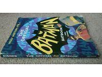 THE OFFICIAL BATMAN BATBOOK. Book by Joel Eisner. Titan Books 1987. Retro Adam West Batman