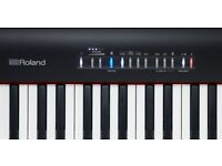 Roland FP-30 Digital Piano with folding stand in Mint Condition