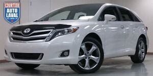 2013 Toyota Venza V6-LIMITED-CUIR-TOIT PANO-CAM