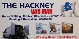 Cheapest man with a van –removal service in newham from £15/hour