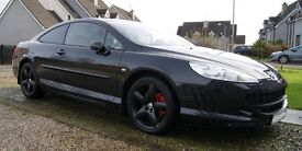 Peugeot 407 V6 Coupe Not golf,seat,audi,renault,citroen MOT TILL MAY 2018
