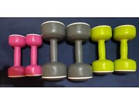 DUMBBELLS- 1.5kg 3kg 5kg set