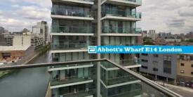 2 bedroom flat in Abbott's Wharf, 93 Stainsby Road, Canary Wharf, E14