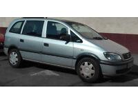 Vauxhall Zafira 2005 7 Seater 1.6 petrol, 100,000 miles £700 ONO
