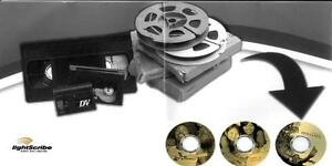 Video to DVD transfers Burnaby $8 per tape 2hrs max