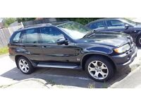 BMW X5 DIESEL SPORT BLACK WITH PRIVATE PLATE...