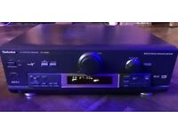 Superb Technics SA-DX850 AV Control Receiver complete with Remote & power lead Dolby Digital