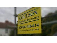 Coulson painting and decorating, painters and decorators