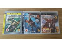 Uncharted complete collection Ps3