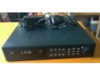 4 Channel CCTV system with 250GB HDD and CD writer.