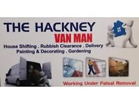 Cheapest man with a van –removal service in east London from £15/hour