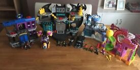 Fisher Price Imaginext Batman & Friends Bundle (SOLD)