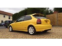 Honda Civic Type R EK9 Rare JDM Import Yellow