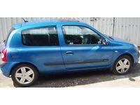 RENAULT CLIO 1500CC DIESEL 2004