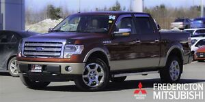 2014 Ford F-150 LARIAT! CREW! LEATHER! SUNROOF! NAV!