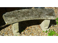 Concrete Garden Seat Bench