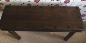 NEXT hard wood console table. FREE delivery in Derby