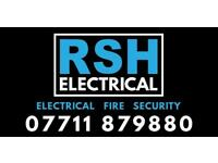 RSH Electrical Electrician Salford Manchester Fire alarms CCTV Security Intruder alarms