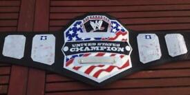 WWE United States adult replica belt. Releathered