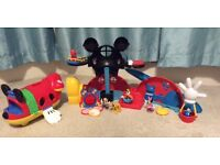 Disney Mckey Mouse Clubhouse and Mickey Mouse Plane