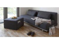 Muji Charcoal Wool sofa bed for sale,