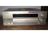 Pioneer VSX-510rds receiver 5x100W amp with remote and FREE DVD player