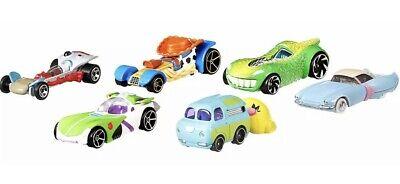 HOT WHEELS DISNEY CHARACTER CARS TOY STORY 4 BUZZ WOODY BUNNY & DUKE & FORKY](Kids Toy Cars)