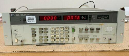 HP / Agilent 8903B Audio Analyzer, 20 Hz to 100 kHz