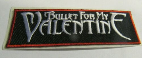 BULLET FOR MY VALENTINE PATCH NEW  VINTAGE OOP COLLECTIBLE OFFICIAL