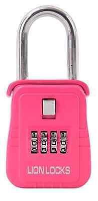 1 Lock Box Key Lock Box For Realtor Real Estate 4 Digit       Color