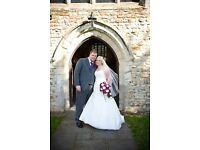 Beautiful size 14-16 wedding dress