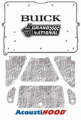 1984 1987 Buick Regal Under Hood Cover With G-064 Grand