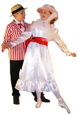 Viktorianisch/ Edwardianisch/ Jolly Urlaub Kostüm Jedes Alter / Größen
