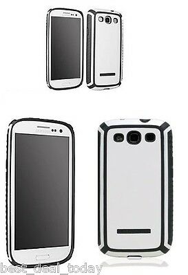 Body Glove Tactic Shell Case White Grey For Samsung Galax...