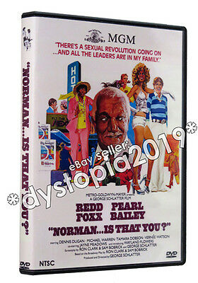 Norman   Is That You  Dvd  1976  Redd Foxx Pearl Bailey Rare 70S Gay Cult Comedy