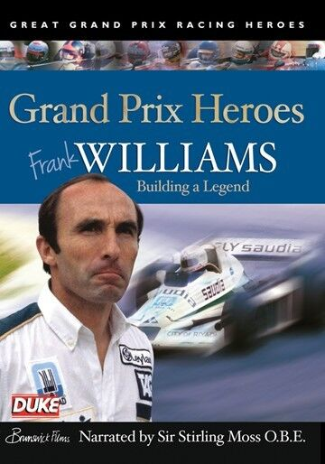 Frank Williams - Grand Prix Heroes (New DVD) Narrated by Sir Stirling Moss F1