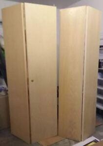 Stained Oak Bi-fold Doors
