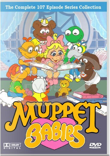 Muppet Babies All 7 Seasons All 107 Episodes 11 Dvd Set