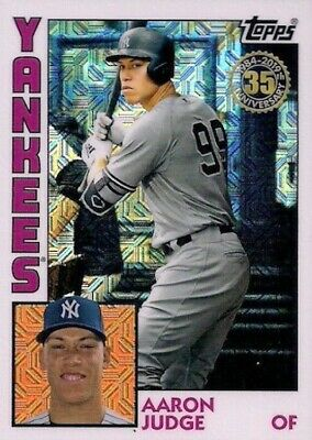 2019 Topps Series 1 1984 CHROME FROM SILVER PACKS - Choose your single card