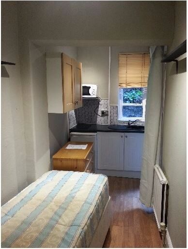 Single Studio with access to Garden in W14